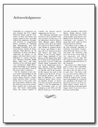 Acknowledgments by Rostenkowski, Dan
