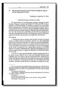 Memorandum Prepared in the Central Intel... by