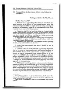 Telegram from the Department of State to... by