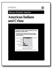 American Indians and Crime by Fisher, Raymond C.