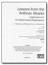 Lessons from the Anthrax Attacks Implica... by Heyman, David