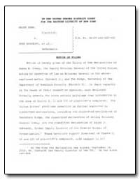 In the United States District Court for ... by Ridge, Tom