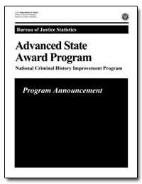 Advanced State Award Program by Chaiken, Jan M.