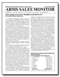 Arms Sales Monitor by