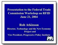 Presentation to the Federal Trade Commis... by Atkinson, Rob