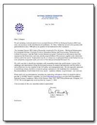 National Science Foundation 4201 Wilson ... by