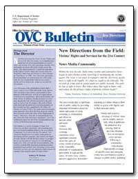 New Directions from the Field: Victim's ... by Turman, Kathryn M.