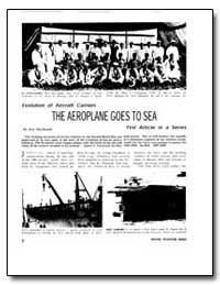 The Aeroplane Goes to Sea by Macdonald, Scot