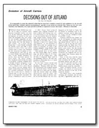 Decisions Out of Jutland by Macdonald, Scot