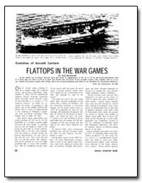 Flattops in the War Games by Macdonald, Scot
