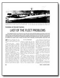 Last of the Fleet Problems by Macdonald, Scot