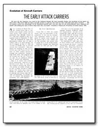 The Early Attack Carriers by Macdonald, Scot