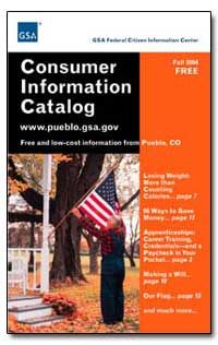 Consumer Information Catalog by