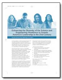 Enhancing the Diversity of the Science a... by May, Gary S., Dr.