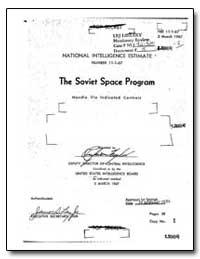The Soviet Space Program by