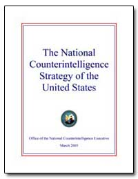 The National Counterintelligence Strateg... by