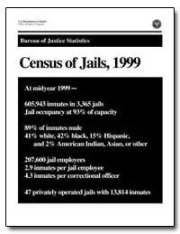 Census of Jails, 1999 by Stephan, James J.