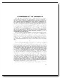 Introduction to the 1992 Edition by