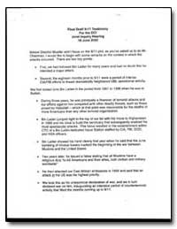 Final Draft 911 Testimony for the Dci Jo... by