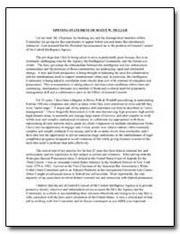 Opening Statement of Scott W. Muller by Muller, Scott W.
