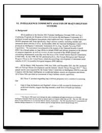 Intelligence Community Analysis of Iraq'... by