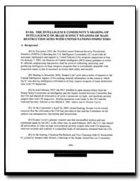 The Intelligence Community's Sharing of ... by