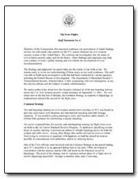 The Four Flights Staff Statement No. 4 by