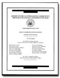 Report on the U.S. Intelligence Communit... by Rockefeller, John D., Iv