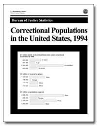 Correctional Populations in the United S... by Brown, Jodi M.