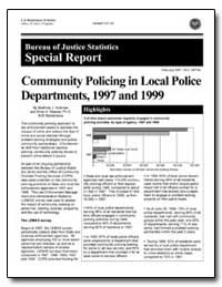 Community Policing in Local Police Depar... by Hickman, Matthew J.