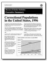 Correctional Populations in the United S... by