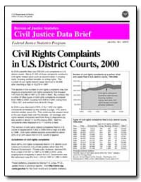 Civil Rights Complaints in U. S. Distric... by