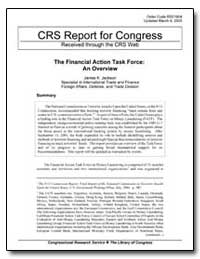 The Financial Action Task Force: An Over... by Jackson, James K.