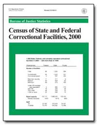 Census of State and Federal Correctional... by Greenfeld, Lawrence A.