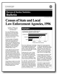 Census of State and Local Law Enforcemen... by Reaves, Brian A., Ph. D.