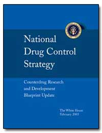 National Drug Control Strategy Counter D... by Walters, John P.