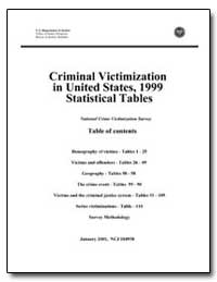 Criminal Victimization in United States,... by