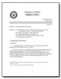 Dod Antiterrorism (At) Program by