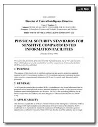 Physical Security Standards for Sensitiv... by