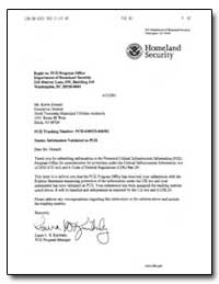 Homeland Security by Kimberly, Laura L. S.