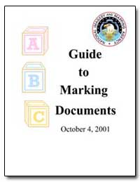 Guide to Marking Documents by Schilpp, Robert W.