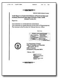 Eleventh Report on Inadvertent Releases ... by