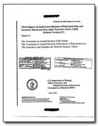 Third Report on Inadvertent Releases of ... by