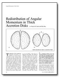 Redistribution of Angular Momentum in Th... by Zurek, Wojciech H.