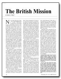 The British Mission by Fakley, Dennis C.