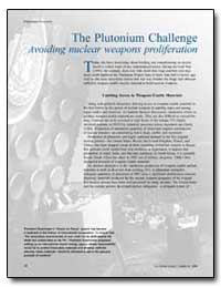 The Plutonium Challenge Avoiding Nuclear... by