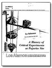 A History of Critical Experiments at Paj... by Paxton, H. C.
