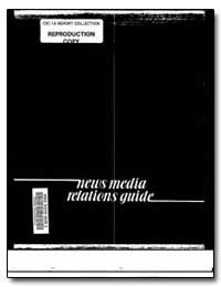 News Media Relations Guide by