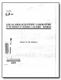 Los Alamos Scientific Laboratory by Bethe, Hans A.