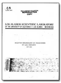 Los Alamos Scientific Laboratory by Hendry, Barbara